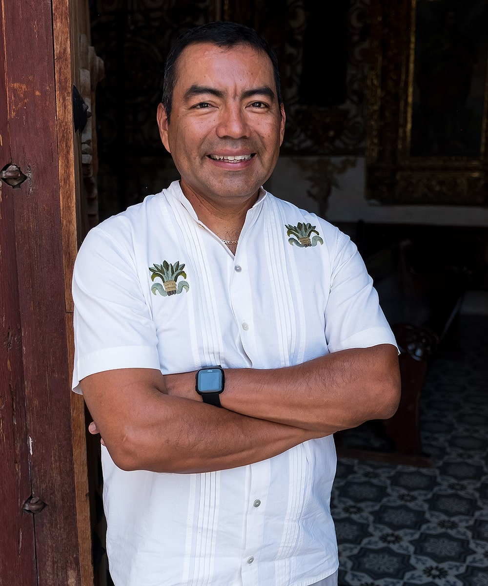 Tour Guide in Oaxaca, René Cabrera